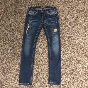 Women's Antique Rivet jeans